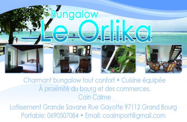 BUNGALOW LE ORLIKA