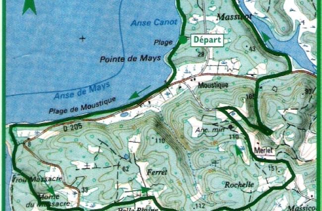 Les sentiers de randonn es p destres office du tourisme - Office tourisme marie galante ...
