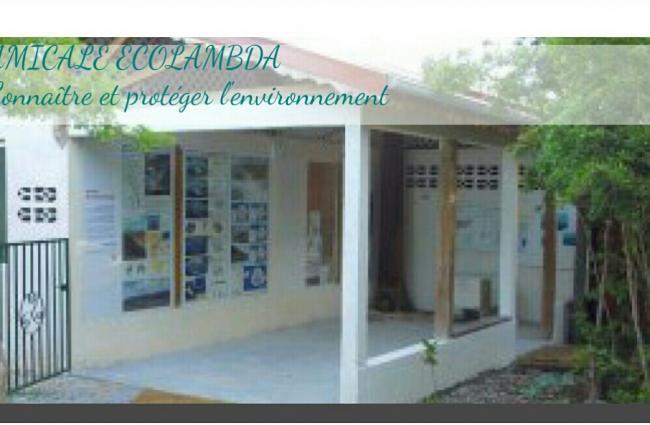 Amicale ECOLAMBDA - MOUINA, Pôle d'interprétation des falaises